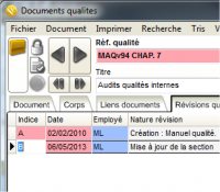 Documents qualites